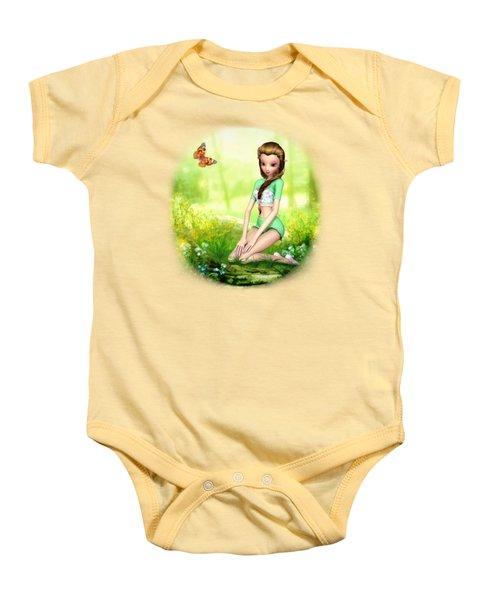 Springtime Pretties Baby Onesie by Brandy Thomas