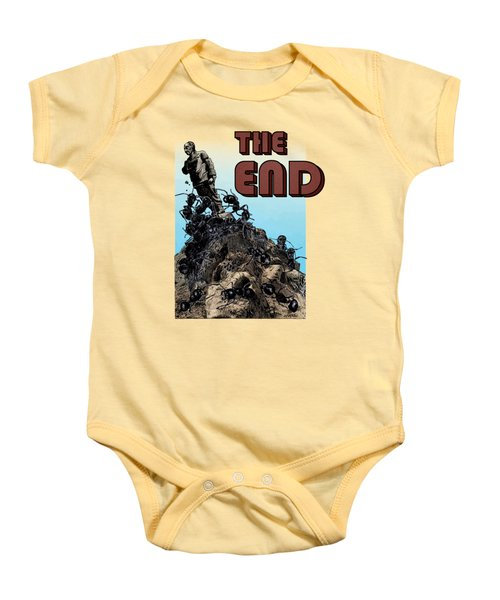 The End Baby Onesie by Joseph Juvenal