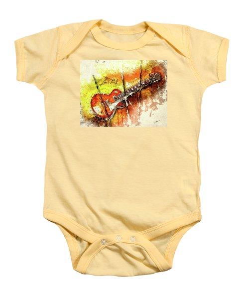 The Holy Grail V2 Baby Onesie by Gary Bodnar