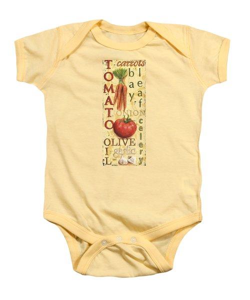 Tomato Soup Baby Onesie by Debbie DeWitt
