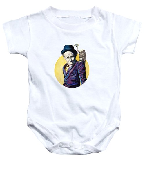 Bad As Me Baby Onesie by Kelly Jade King