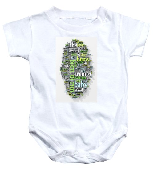 Born To Run Baby Onesie by Scott Norris