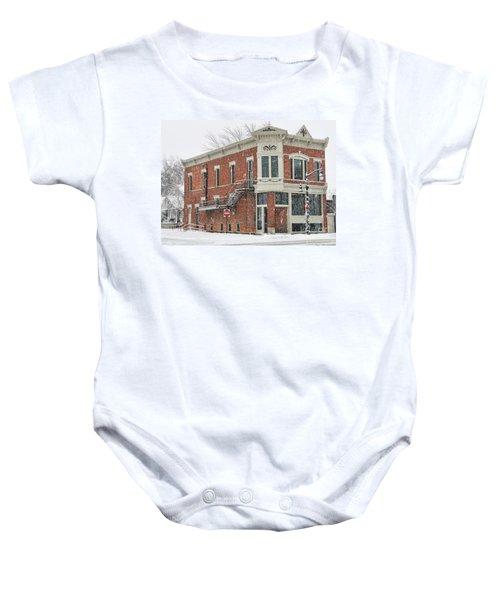 Downtown Whitehouse  7031 Baby Onesie by Jack Schultz
