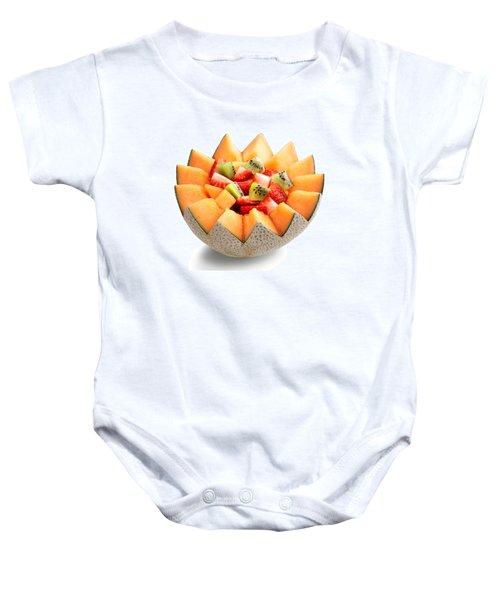 Fruit Salad Baby Onesie by Johan Swanepoel