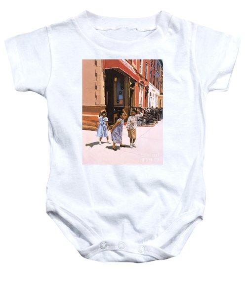 Harlem Jig Baby Onesie by Colin Bootman