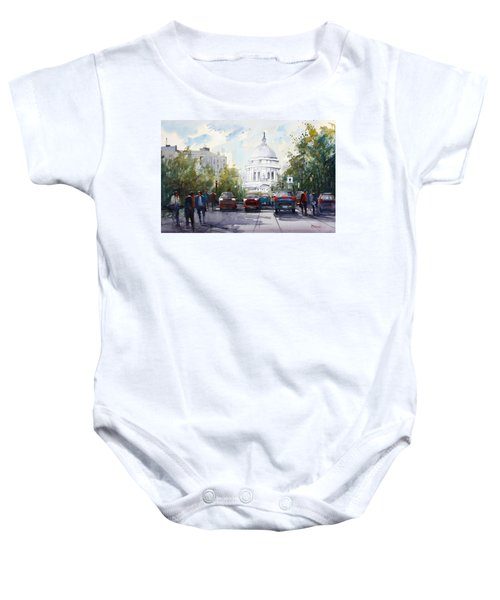 Madison - Capitol Baby Onesie by Ryan Radke