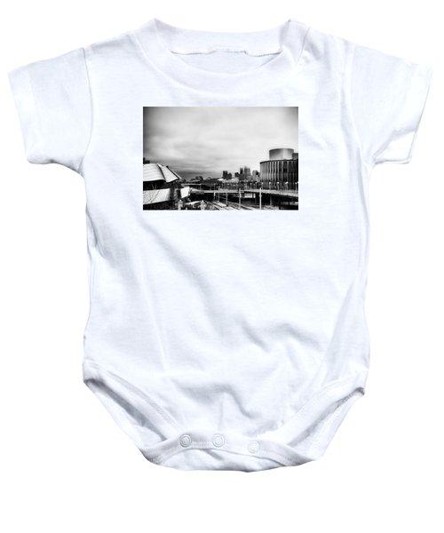 Minneapolis From The University Of Minnesota Baby Onesie by Tom Gort