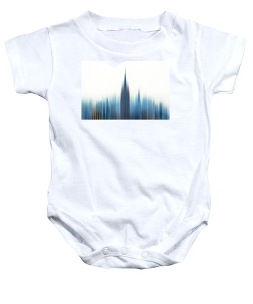 Moving An Empire Baby Onesie by Az Jackson