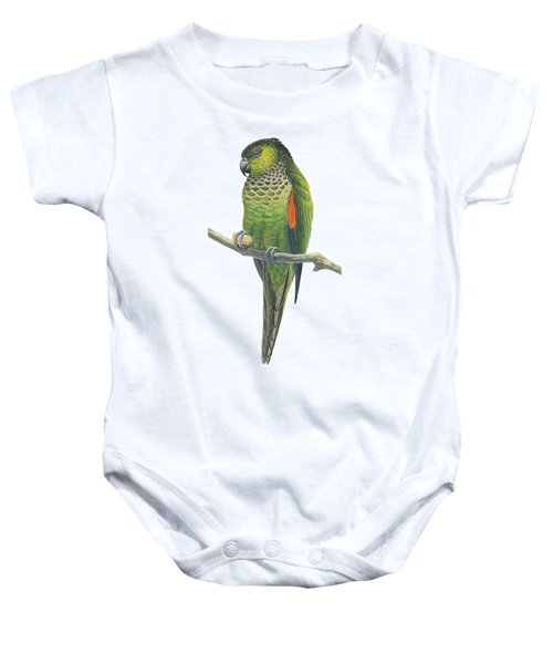 Rock Parakeet Baby Onesie by Anonymous