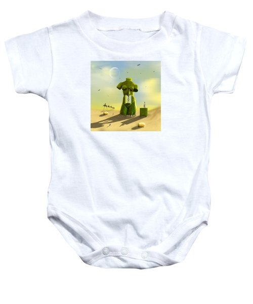 The Nightstand Baby Onesie by Mike McGlothlen