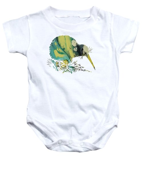 Kiwi Bird Baby Onesie by Mordax Furittus