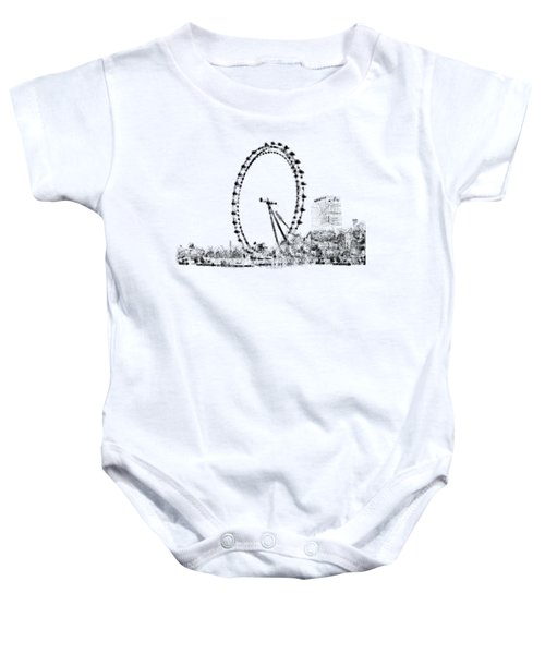 London Eye Baby Onesie by ISAW Company