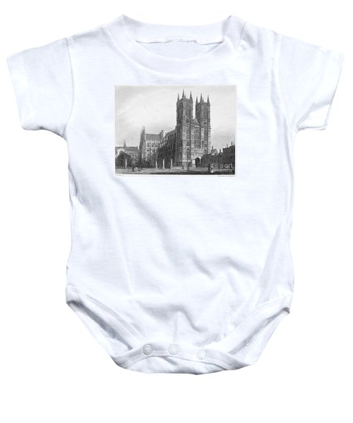 London: Westminster Abbey Baby Onesie by Granger
