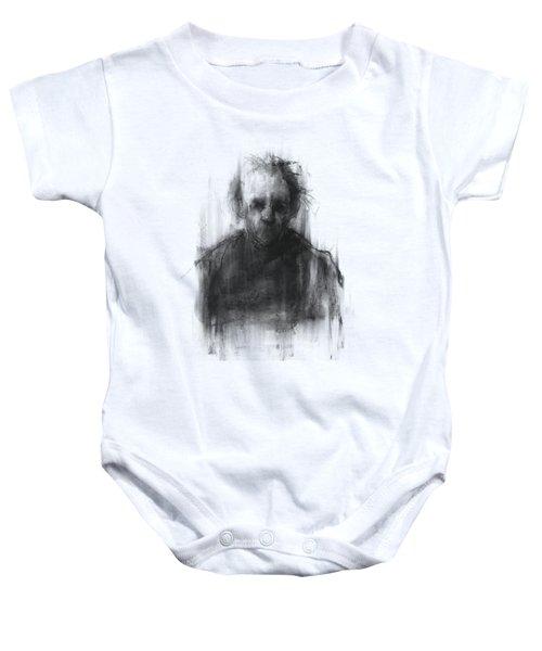Simple Man Baby Onesie by Bruno M Carlos