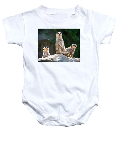 Three's Company Baby Onesie by Jamie Pham