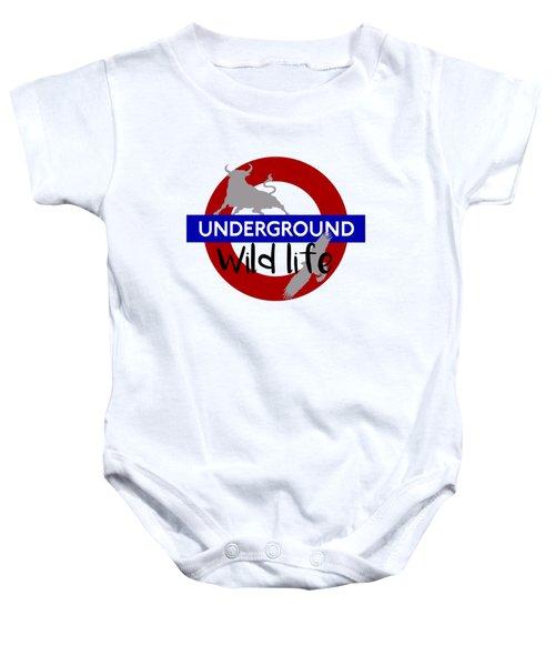 Underground.2 Baby Onesie by Alberto RuiZ