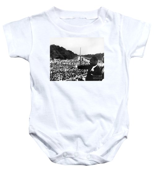 Martin Luther King, Jr Baby Onesie by Granger