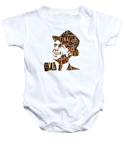 Frank Sinatra I Did It My Way Baby Onesie by Marvin Blaine
