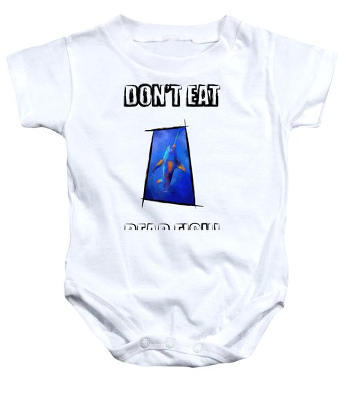 Kauderon V1 - Beautiful Swordfish Baby Onesie by Cersatti