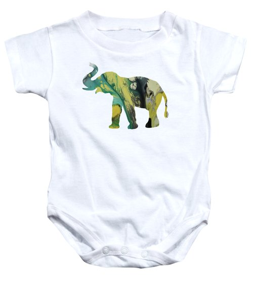 Elephant Baby Onesie by Mordax Furittus