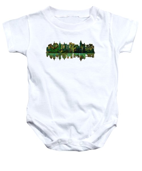 London England Skyline Baby Onesie by John Groves
