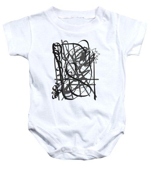 Abstract Baby Onesie by Oksana Demidova