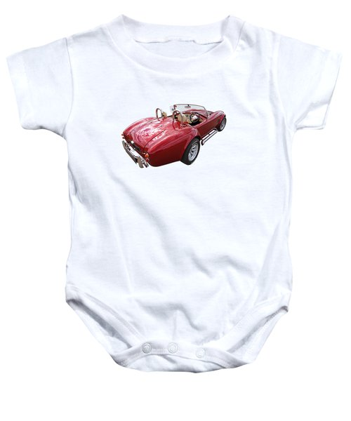 Ac Cobra 1966 Baby Onesie by Gill Billington