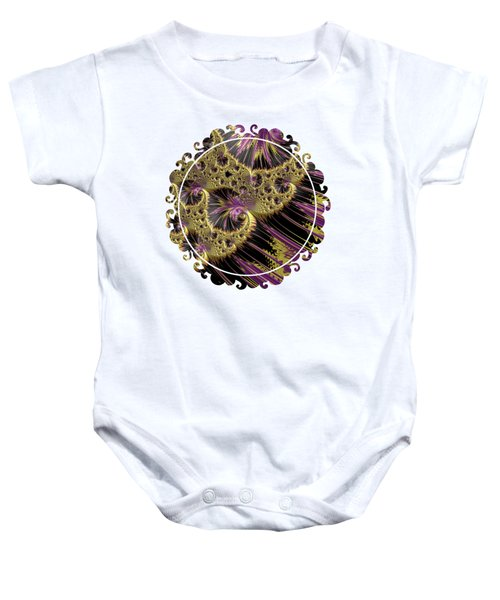 All That Glitters Baby Onesie by Becky Herrera