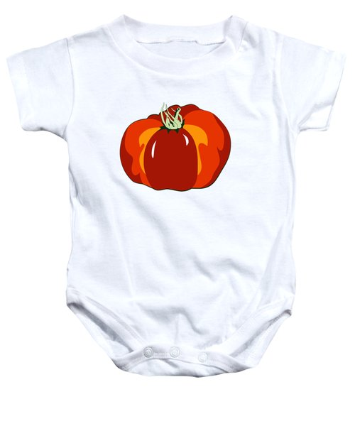 Beefsteak Tomato Baby Onesie by MM Anderson