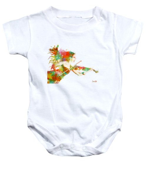 Can You Hear Me Now Baby Onesie by Nikki Smith