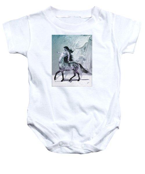 Centaur Cool Tones Baby Onesie by Quim Abella