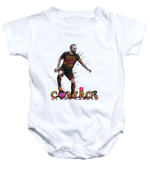 Control Pass And Repeat Baby Onesie by Akyanyme