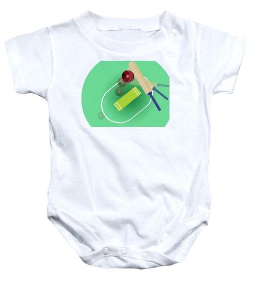 Cricket Baby Onesie by Smita Kadam