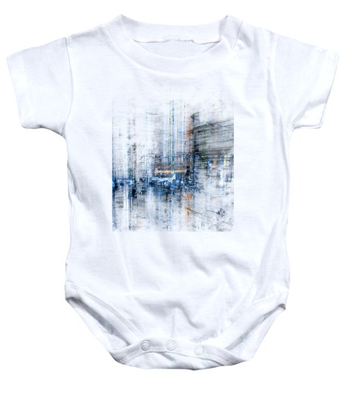 Cyber City Design Baby Onesie by Martin Capek