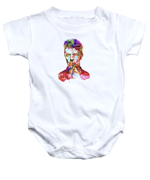 David Bowie  Baby Onesie by Marian Voicu