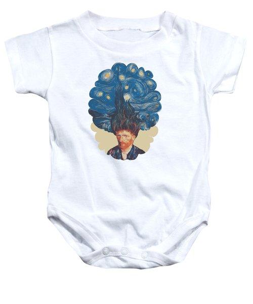 De Hairednacht Baby Onesie by Mustafa Akgul