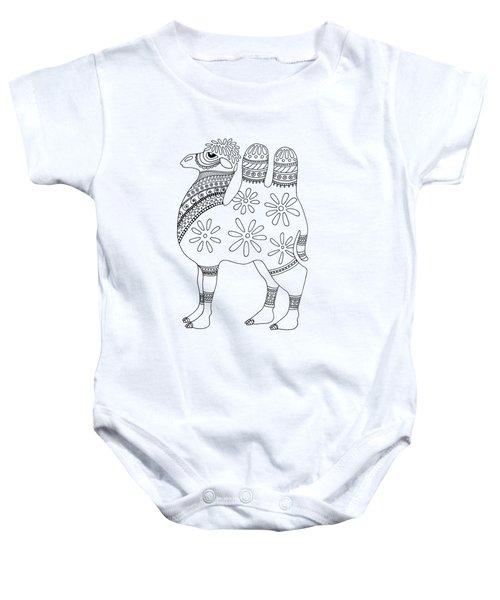 Difficult Camel Baby Onesie by Sarah Rosedahl