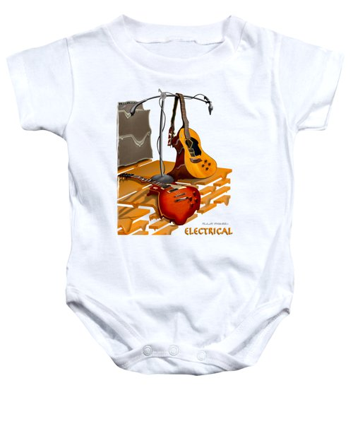 Electrical Meltdown Se Baby Onesie by Mike McGlothlen