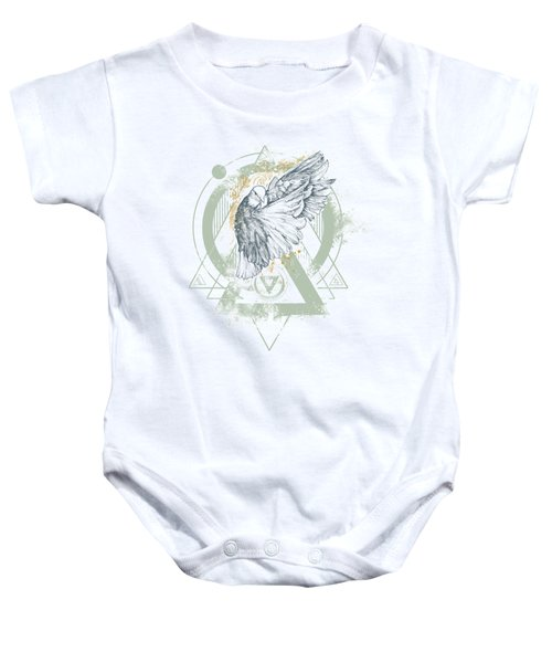 Enigma Baby Onesie by Chad Lonius