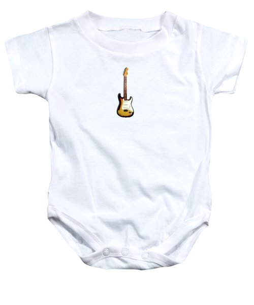 Fender Stratocaster 65 Baby Onesie by Mark Rogan