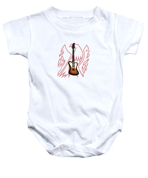 Gibson Firebird 1965 Baby Onesie by Mark Rogan