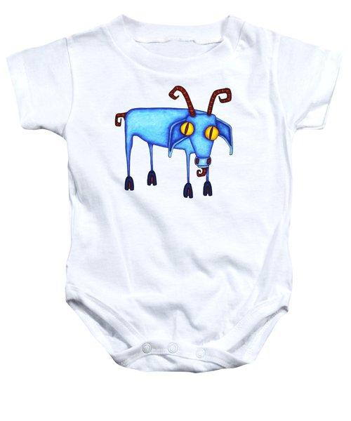 Goat Baby Onesie by Joan Krygsman