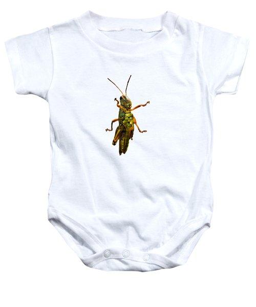 Grasshopper II Baby Onesie by Gary Adkins