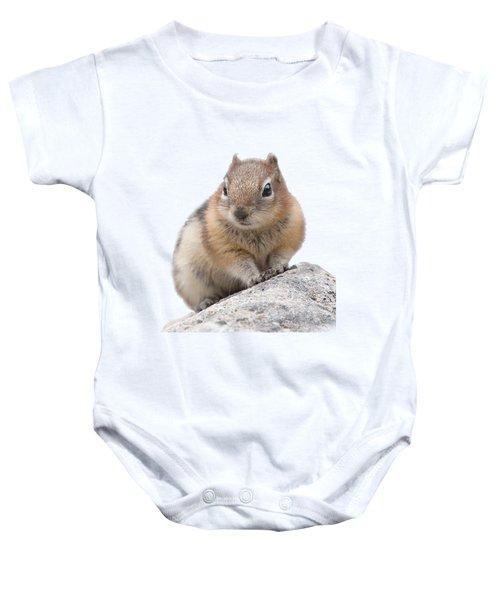 Ground Squirrel T-shirt Baby Onesie by Tony Mills