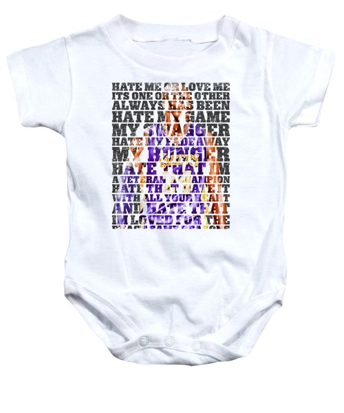 Hate Me Baby Onesie by Iman Cruz
