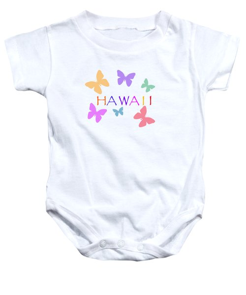 Hawaii Baby Onesie by Bill Owen