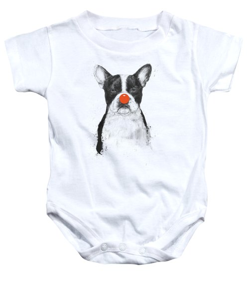 I'm Not Your Clown Baby Onesie by Balazs Solti