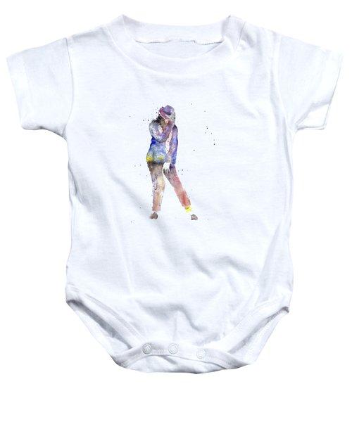 Jackson  Baby Onesie by Salome Mikaberidze