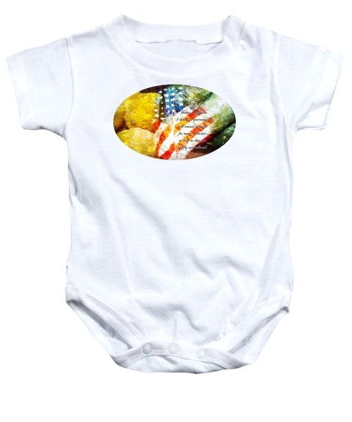 Jefferson's Farm Baby Onesie by Anita Faye