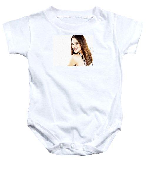 Jennifer Garner Baby Onesie by Iguanna Espinosa